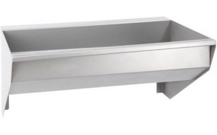 AZP BRNO AUL 04.2 umývací žlab 1900x400mm, závěsný, nerez ocel