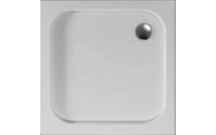 Čtvercová sprchová vanička ERIS se vyrábí v provedení s hladkým povrchem.