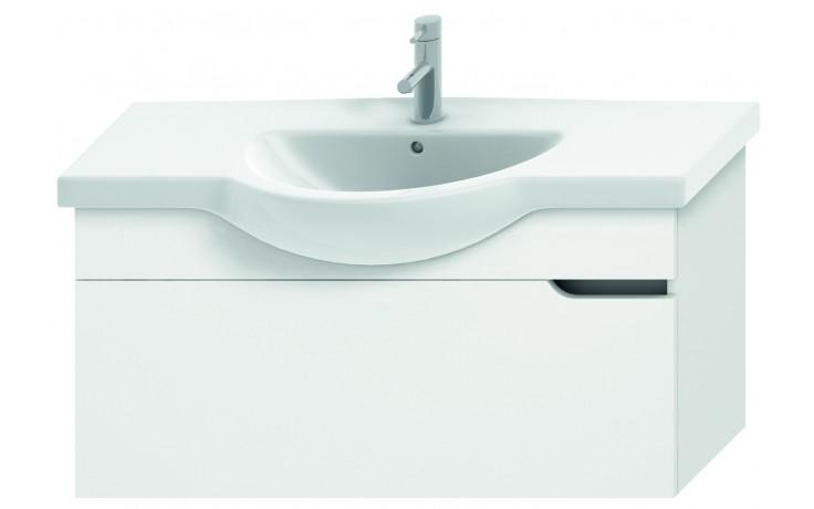 JIKA MIO umyvadlová skříňka pro nábytkové umyvadlo 1000x340mm 1 zásuvka, bílá/bílá