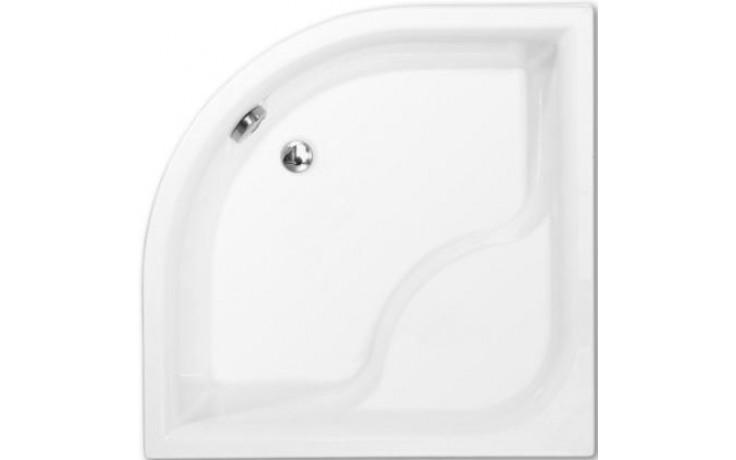 ROLTECHNIK VIKI LUX sprchová vanička 900x900x480mm R550 hluboká, akrylátová, čtvrtkruhová, bílá
