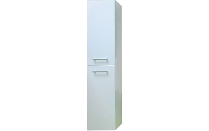 CONCEPT 200 skříňka vysoká 35x35x154,5cm závěsná, bílá/bílá