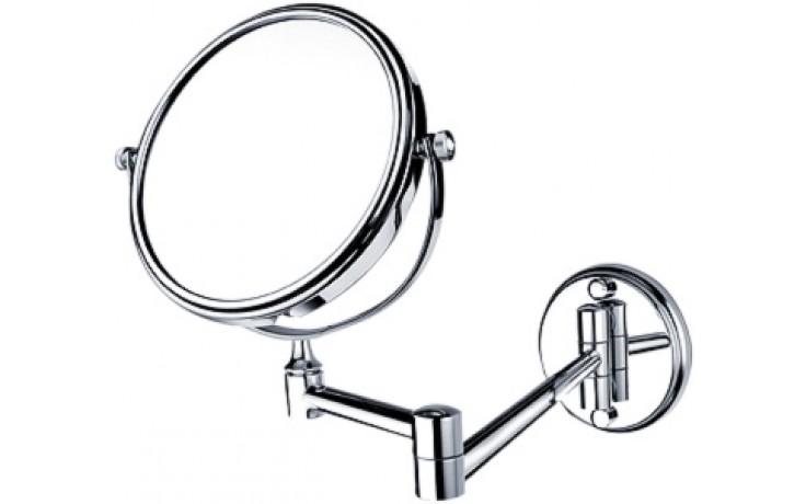 Doplněk zrcadlo Nimco malé, nástěnné 15 cm chrom 26