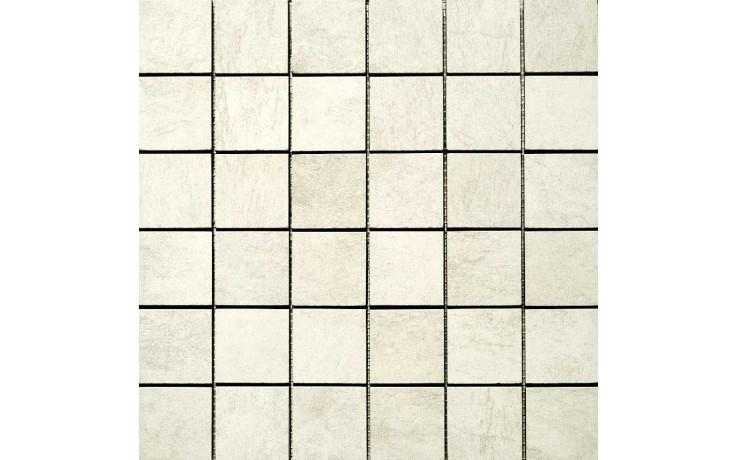 MARAZZI STONE-COLLECTION mozaika 30x30cm lepená na síťce, white