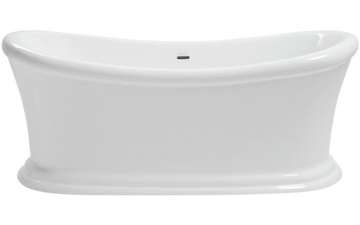 HERITAGE ORFORD vana 1700x740mm volně stojící, středový odtok, akrylát, bílá