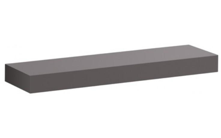 KERAMAG ICON polička platinová lesklá 840962000