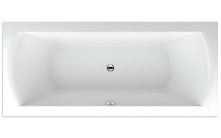 TEIKO FENIX 180 vana 180x80x45cm, obdélník, akrylát, bílá