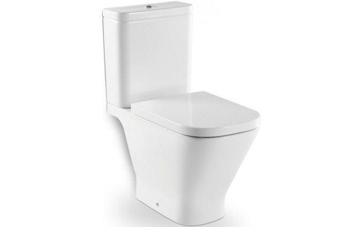 WC mísa Roca odpad vodorovný The Gap kombi  bílá-maxiClean