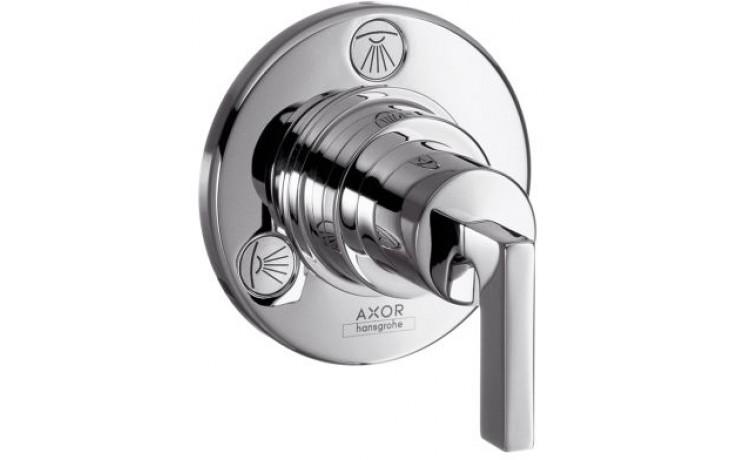 HANSGROHE AXOR CITTERIO TRIO/QUATTRO ventil uzavírací a přepínací podomítkový s páčkou chrom 39920000