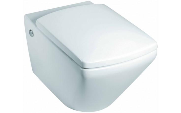 WC závěsné Kohler odpad vodorovný Escale včetně sedátka slow-close 60x36 cm White