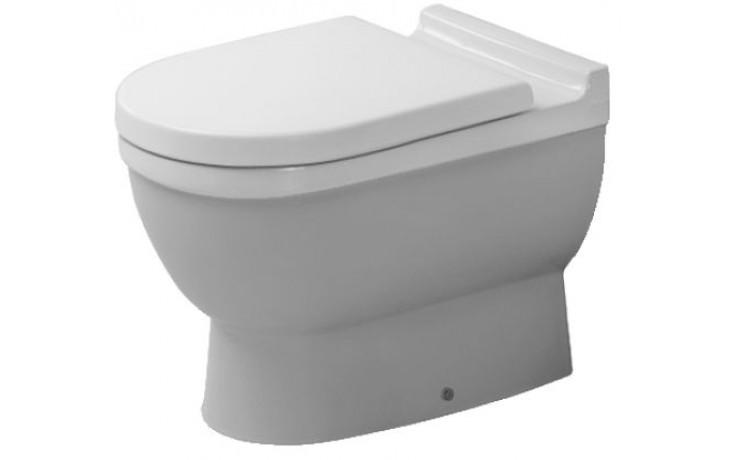WC mísa Duravit odpad vodorovný Starck 3 36x56 cm bílá,s hlubokým splachováním