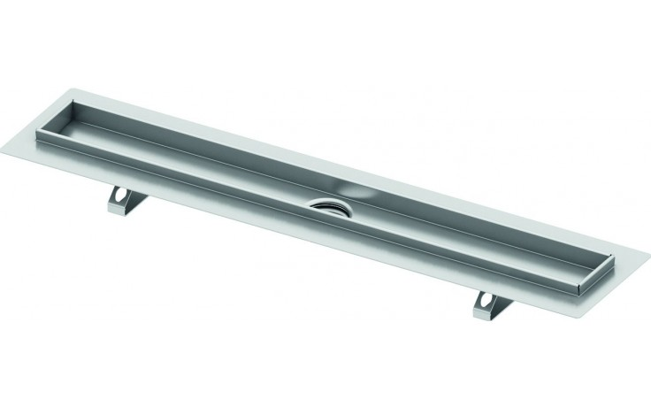 TECE DRAINLINE sprchový žlab 935mm, pro nalepení dlažby, s těsnící páskou Seal System, nerez