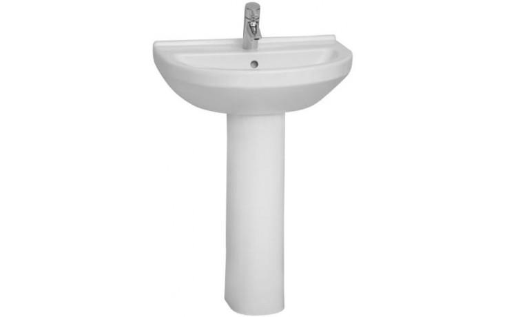 Umyvadlo klasické Vitra bez otvoru S50 60 cm bílá