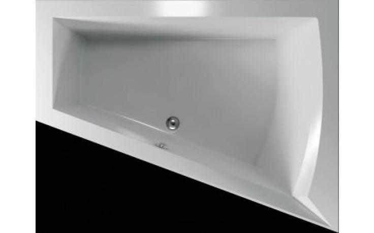 Vana plastová Teiko tvarovaná Galia P 175x135x50cm bílá