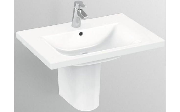 IDEAL STANDARD CONNECT umyvadlo 600x490mm nábytkové s otvorem bílá Ideal Plus E8129MA