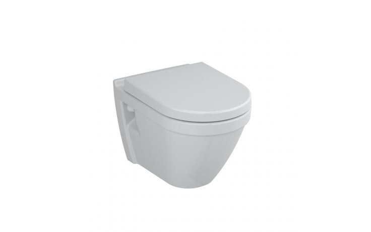 CONCEPT S50 závěsné WC 355x520mm vodorovný odpad, hluboké splachování bílá 5318L003-0075