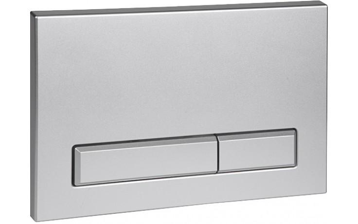 SANELA SLW51 splachovací tlačítko, dvojčinné, do rámu SLR 21, chrom lesk