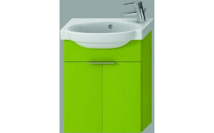 Nábytek skříňka s umývátkem Jika Tigo 45 cm zelená