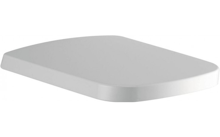 Sedátko WC Ideal Standard duraplastové s kov. panty Mia s automatickým sklápěním  bílá
