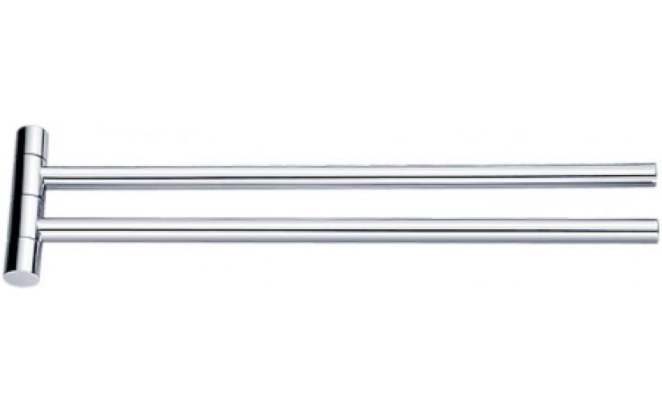 NIMCO BORMO držák na ručníky 420x22x108mm otočný, se dvěmi rameny, chrom BR 11096-26