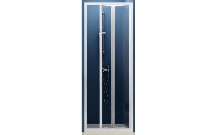 Zástěna sprchová dveře Ravak sklo SDZ2-70 zlamovací 70 bílá/transparent