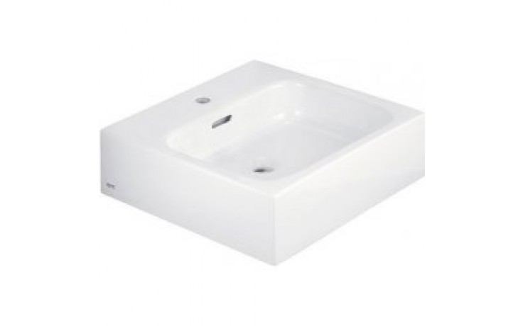 ESPRIT umyvadlo 500x500x142mm, nábytkové s otvorem, bílá