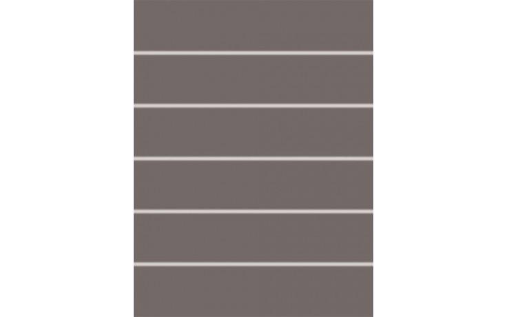 RAKO CONCEPT AKCENT dekor 25x33cm tmavě šedá WIFKB111