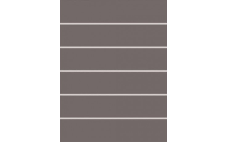 Dekor Rako Concept Akcent 25x33 cm tmavě šedá