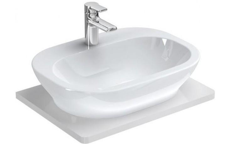 Umyvadlo nábytkové Ideal Standard s otvorem SoftMood na desku 60x45 cm bílá