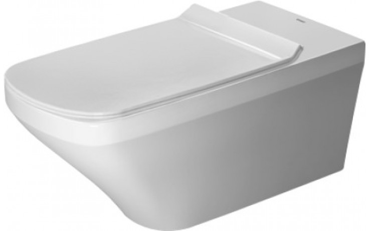 WC závěsné Duravit odpad vodorovný DuraStyle Vital bezbariérové, rimless s hlubokým splachováním 37x70 cm bílá
