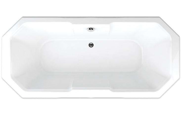 TEIKO MADEIRA vana 175x80x42cm, obdélník, akrylát, bílá
