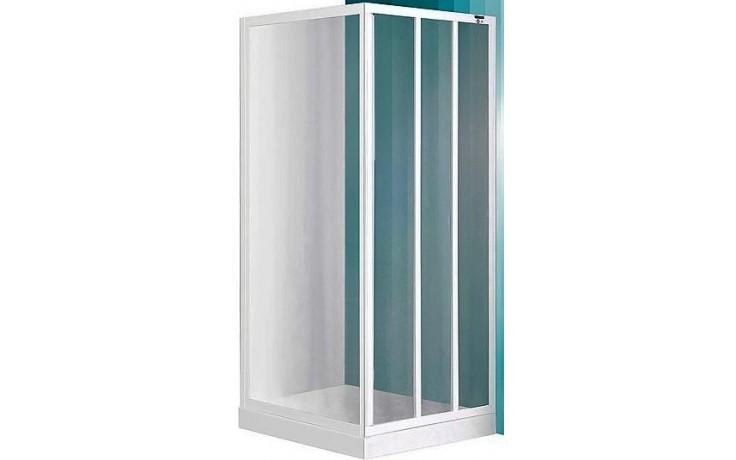 ROLTECHNIK SANIPRO LD3/800 sprchové dveře 800x1800mm posuvné pro instalaci do niky, bílá/grape