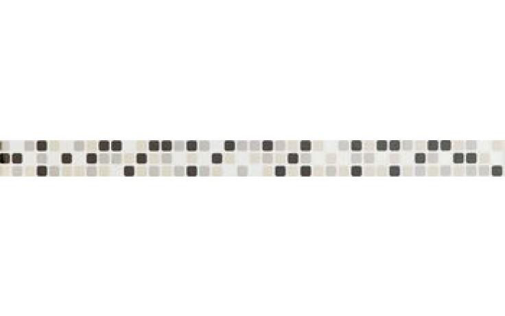 IMOLA REFLEX listela 4,5x60cm white, L.MOSAIC W MIX