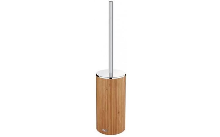 Doplněk WC sada Nimco Nibu 8,5x47 cm dřevo bambus