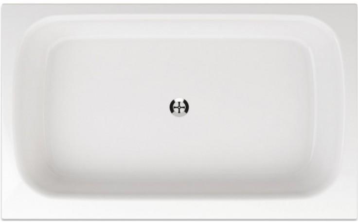 TEIKO RHEA sprchová vanička 120x73x15 cm akrylátová, obdélníková, s hladkým povrchem, bílá