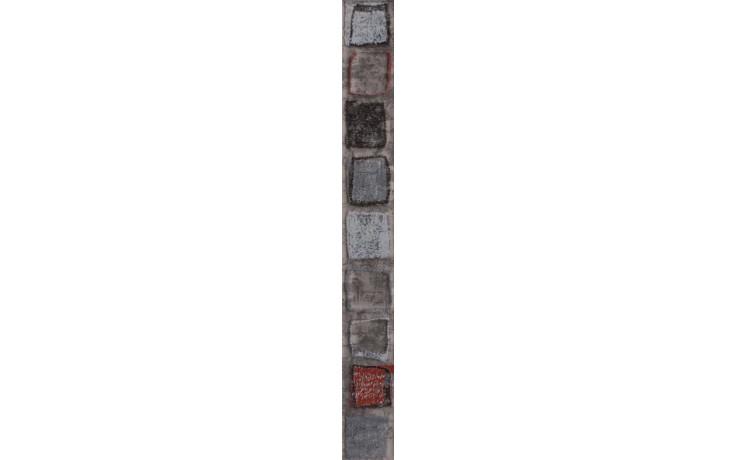 Listela Rako Concept Monopoli 40x4,5 cm tm.šedá