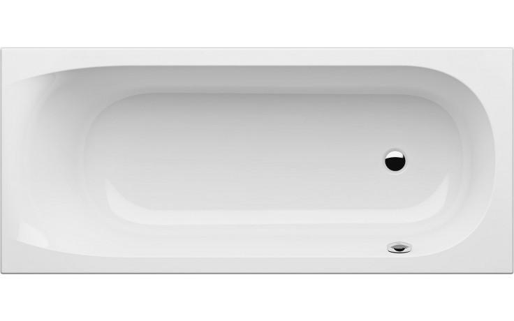 GKI FOX klasická vana 1700x750mm s přepadem vpravo, akrylátová, bílá