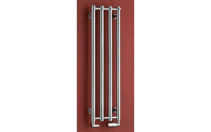 Radiátor koupelnový PMH Rosendal 266/950 483 W (75/65C) kartáčovaná nerez