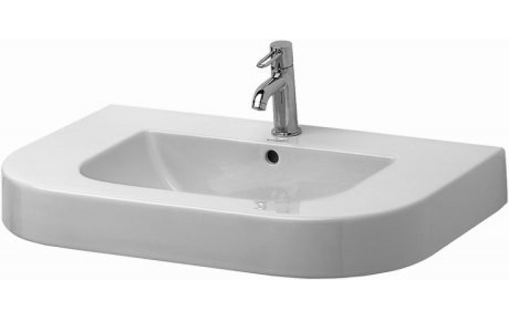 Umyvadlo klasické Duravit s otvorem Happy D 80x52,5 cm bílá