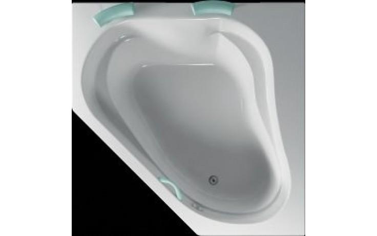 Akrylátová a velmi prostorná rohová vana KORFU.  K vaně není nabízen čelní krycí panel. KORFU je možné osadit hydromasážními systémy řady ECO a STANDARD. Pro tento výrobek není k dispozici vanová zástěna.
