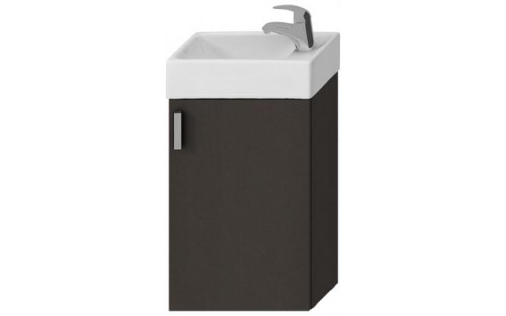 Nábytek skříňka s umývátkem Jika Petit 40 cm šedá