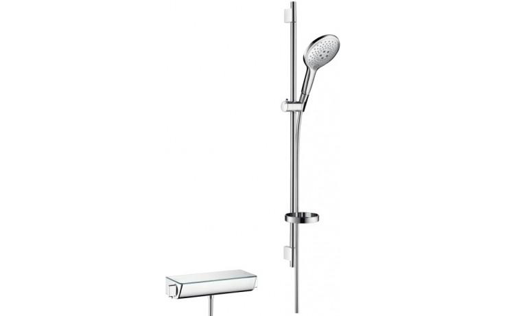HANSGROHE sada ruční sprcha Raindance Select S 150 3jet/sprchový termostat Ecostat bílá/chrom 27037400