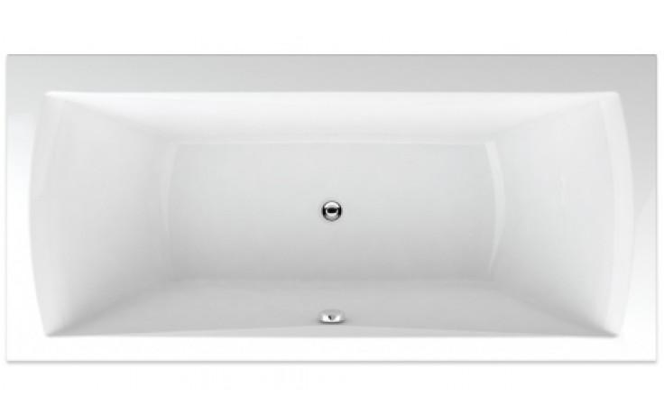 TEIKO TITAN 180/80 vana 180x80x48cm, obdélník, akrylát, bílá