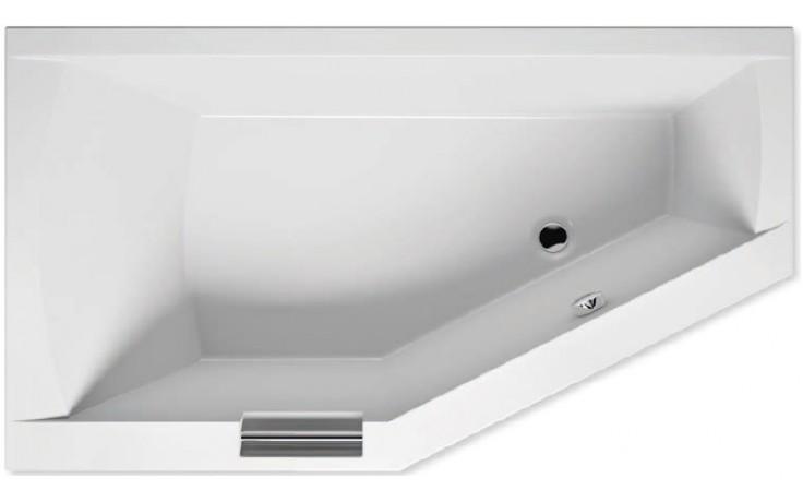 RIHO GETA BA88 vana 170x90x52cm, asymetrická, pravá, akrylátová, bílá