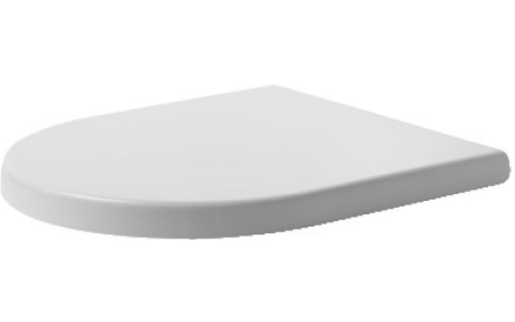 DURAVIT STARCK 3 WC sedátko se sklápěcí automatikou, bílá 0067790000