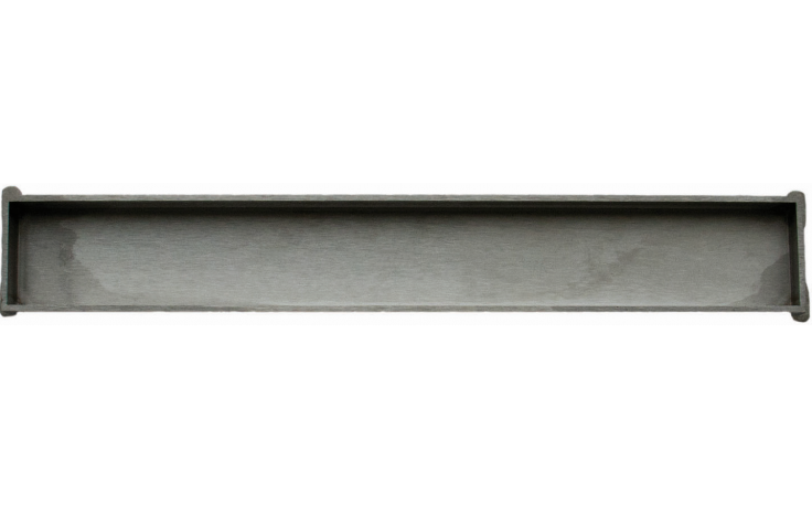 UNIDRAIN HIGHLINE 1940 CASSETTE kazeta 1000mm k podélnému žlabu, nerezová ocel