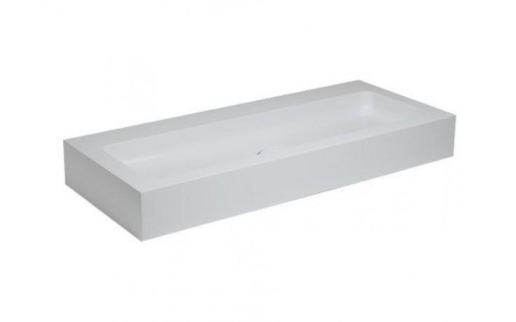 Umyvadlo nábytkové Keuco - Edition 300 1250x155x525 bílá