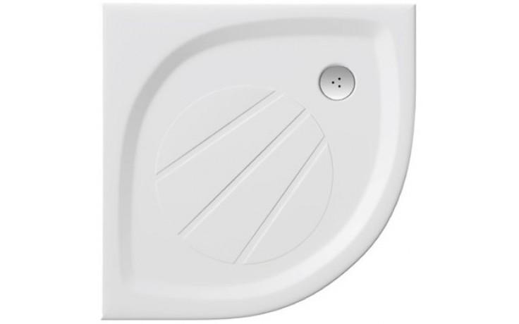 RAVAK ELIPSO PRO 90 sprchová vanička 900x900mm z litého mramoru, extra plochá, čtvrtkruhová , bílá XA237701010