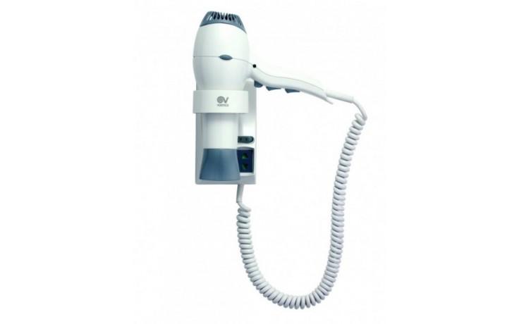 Doplněk fén Vortice Vort Fohn 1600 Plus se zabudovanou elektrickou zásuvkou  bílá