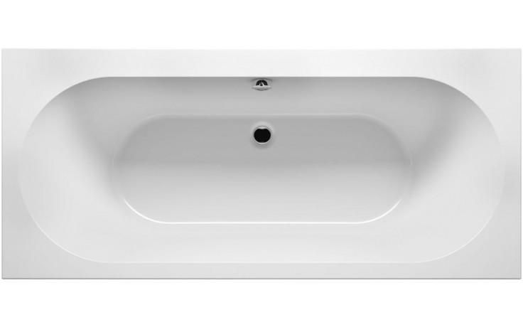 RIHO CAROLINA BB54 vana 180x80x53cm, obdélníková, akrylátová, bílá