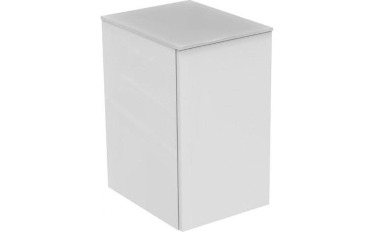 IDEAL STANDARD TONIC II skříňka postranní 353x445x600mm, 1 dvířka, bílá lesk